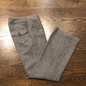 Banana Republic Lined Tweed Pants size 0